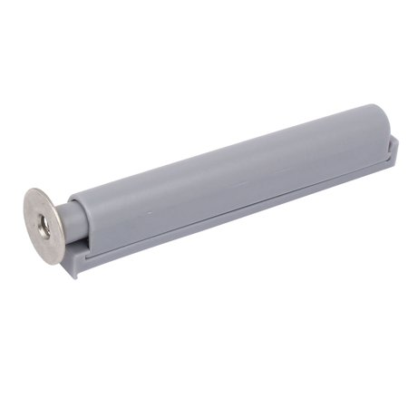 Cabinet Drawer Door Push Open System Plastic Damper Buffer Gray w Magnetic Tip - image 3 de 4