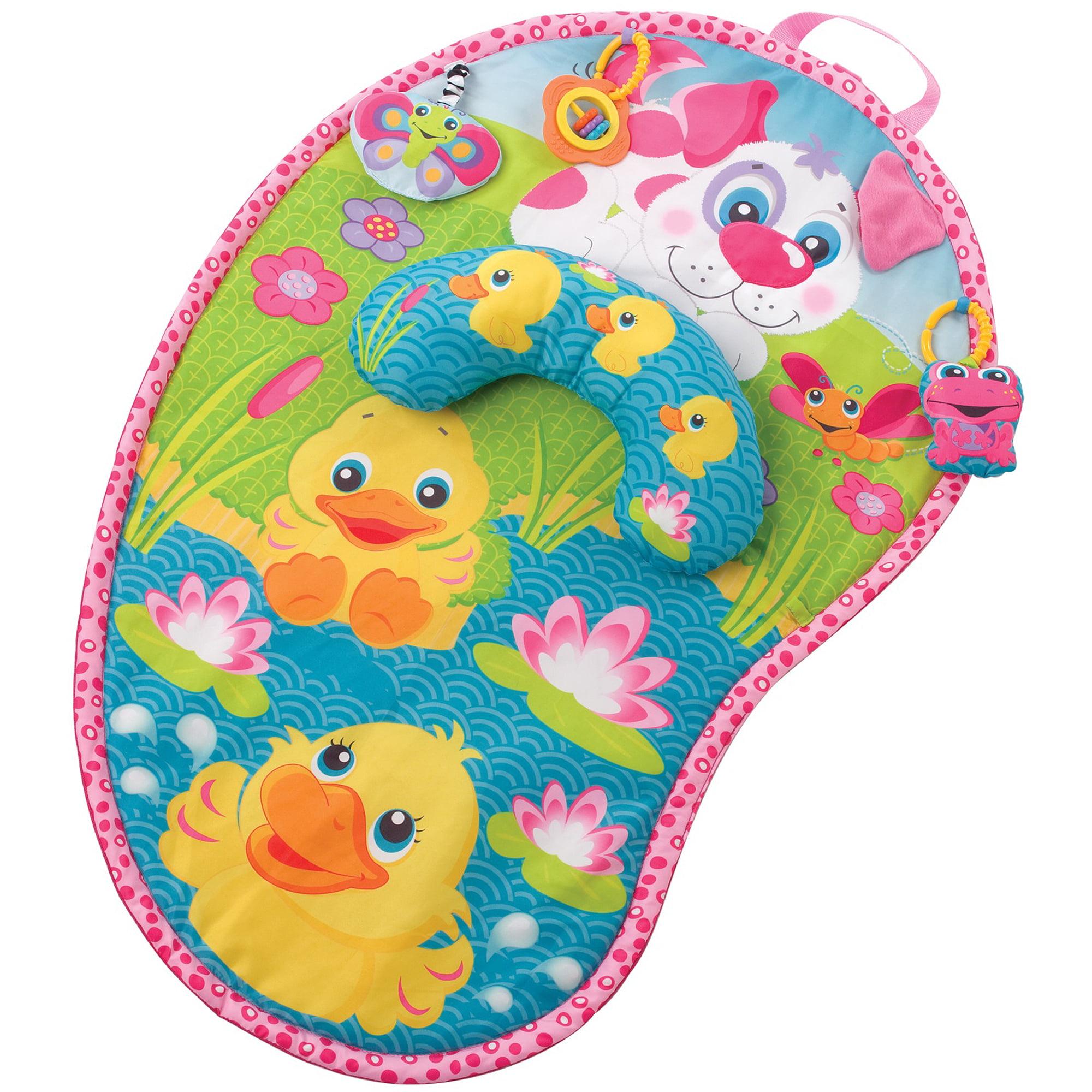 Playgro Pink Puppy Tummy Mat