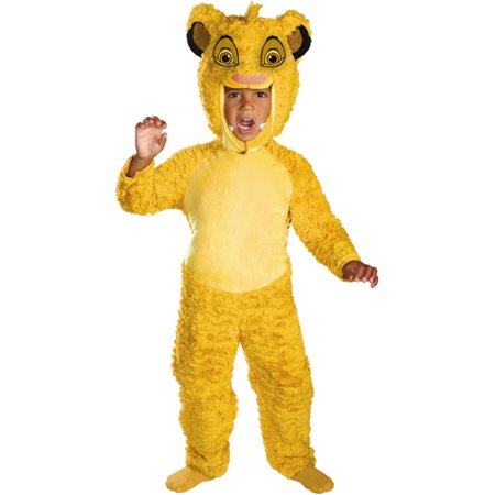 Kings Costume For Kids (Lion King Simba Deluxe Toddler Halloween)