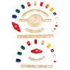 Hape Kids Wooden Loop de Loop Marble Run Block Play Set + Speedway Add On Set