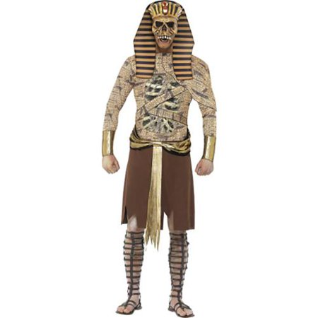 Adult Zombie Pharaoh Egyptian Costume by Smiffys 40097 (Pharaoh Costume Accessories)