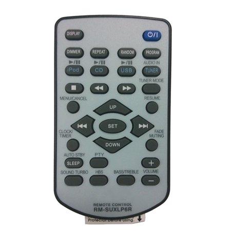 New RM-SUXLP6R Remote Control fit for JVC iPod MP3 WMA Radio Data System UX-LP5US UX-LP5UB UX-LP5UP UX-LP5UT SP-UXLP5 - Ipod Controls
