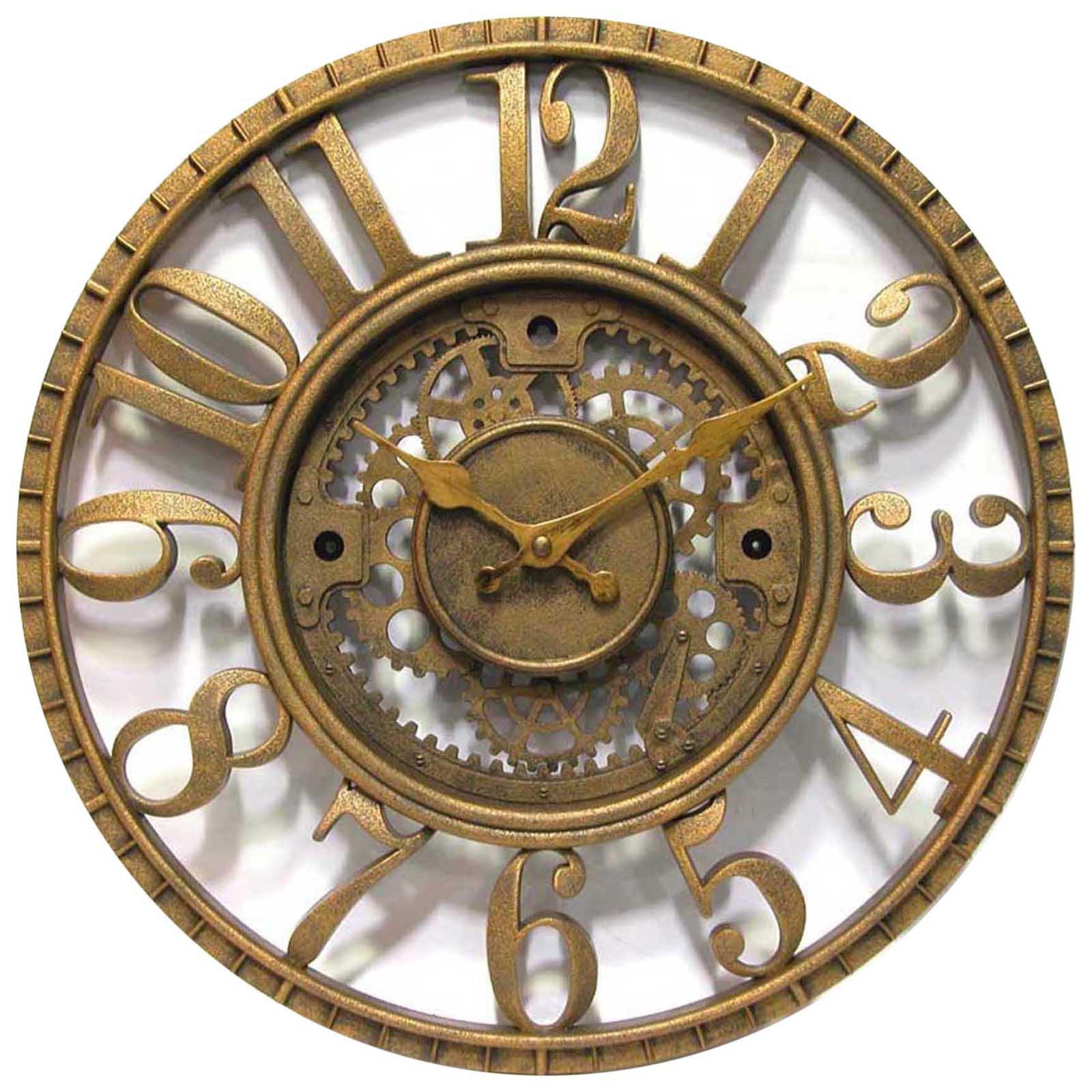 Infinity Instruments Gear Dial 15 5 Inch Wall Clock Walmart