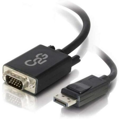 C2G (Cables To Go) 3ft C2g Displayport M Pour Vga M Blk - image 1 de 1