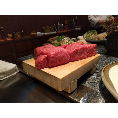 Canvas Print Kobe Beef Meat Japanese Kobe Beef Japan Stretched Canvas 10 x (Best Place To Get Kobe Beef In Japan)