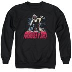 Forbidden Planet Robby And Woman Mens Crewneck Sweatshirt