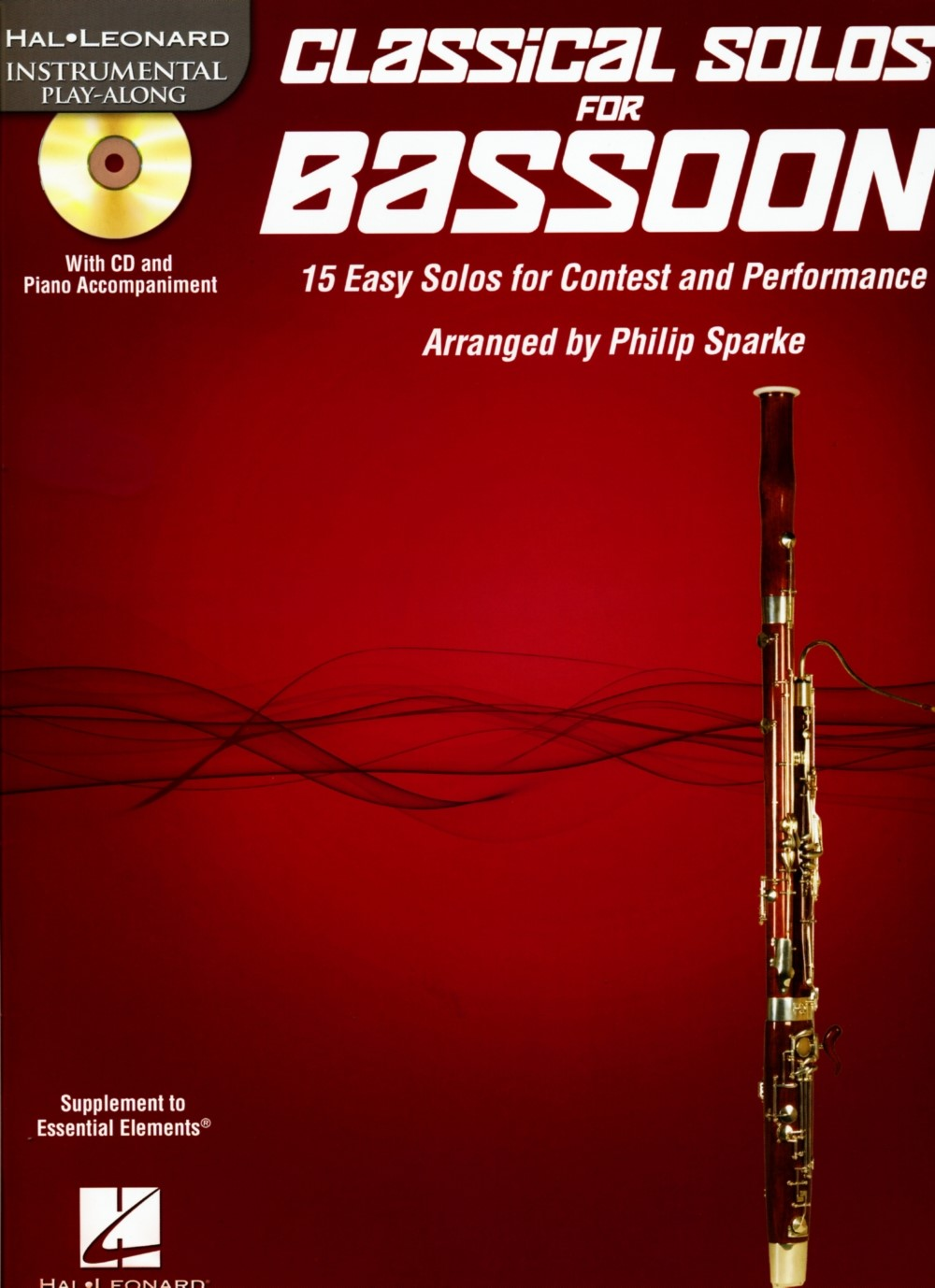 Hal Leonard Instrumental Play-Along Classical Solos for Bassoon by Philip Sparke (Book CD... by Hal Leonard Publishing Corporation