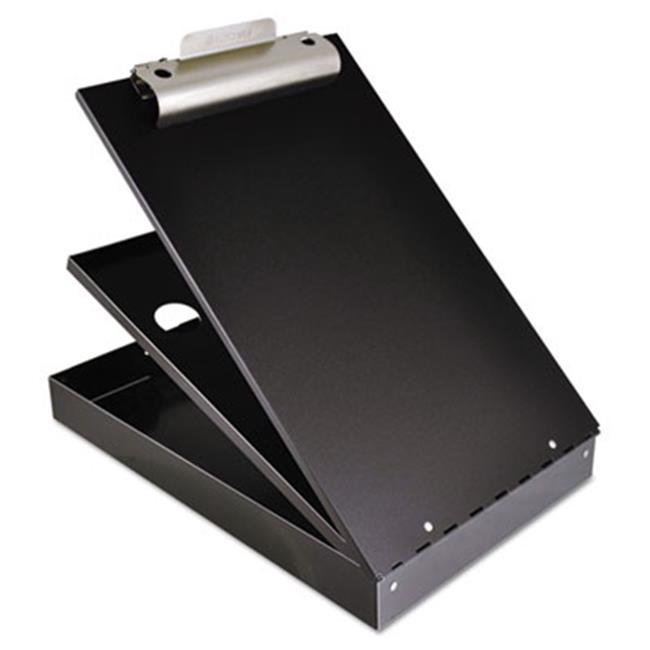 Saunders 21117 Cruiser Mate Aluminum Storage Clipboard, 1 in. Capacity, Holds 8.5 x 12, Black - image 1 of 1