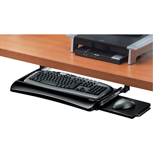 Fellowes Office Suites Underdesk Keyboard Drawer, 20-1/8w x 7-3/4d, Black