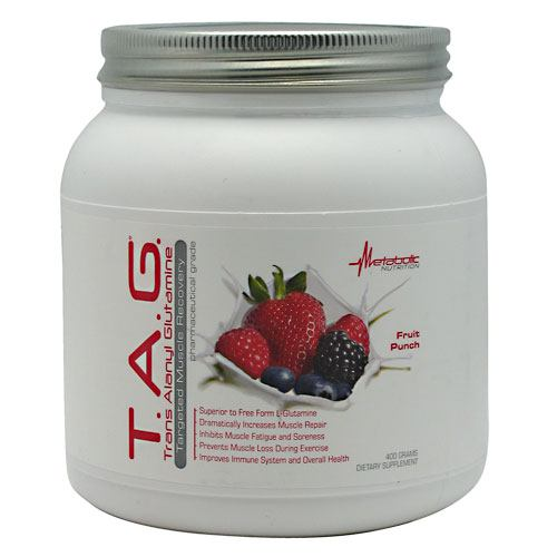 Metabolic Nutrition T.A.G., Fruit Punch