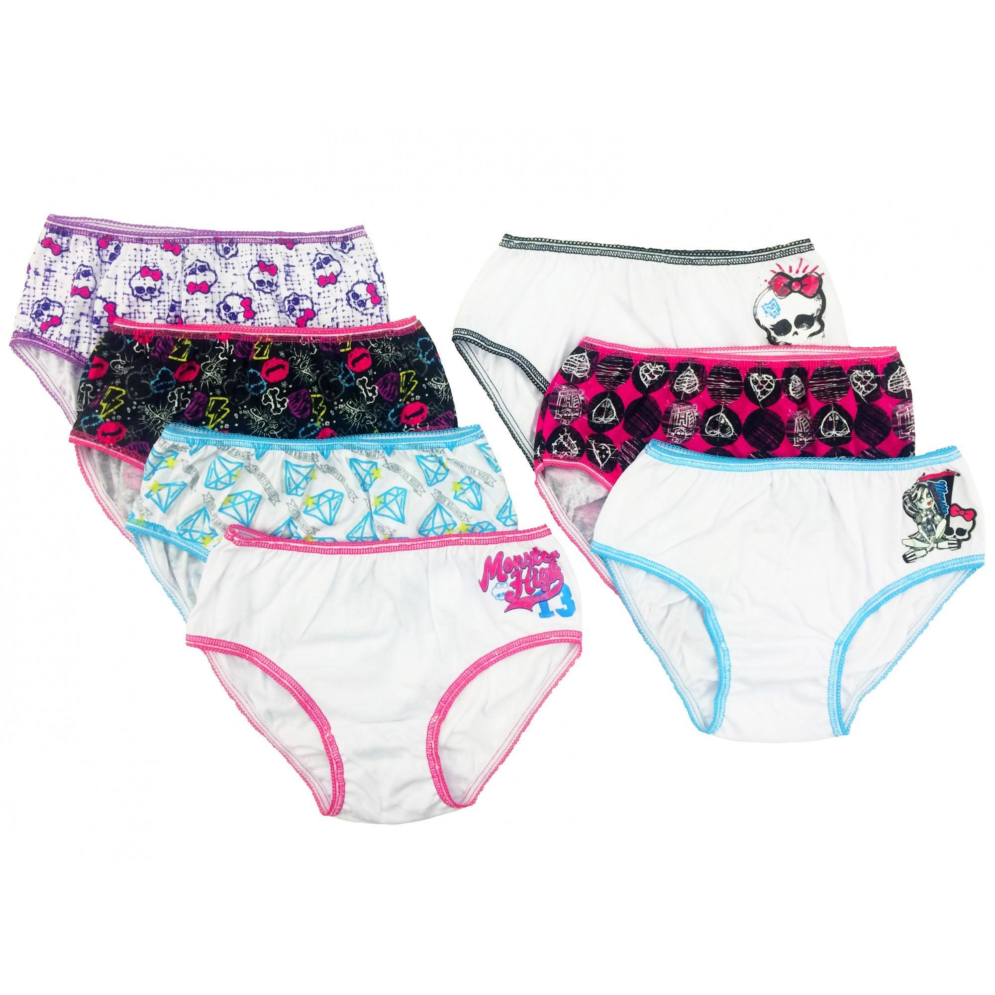 Handcraft Children's Apparel Monster High Girls Underwear 7 Pack