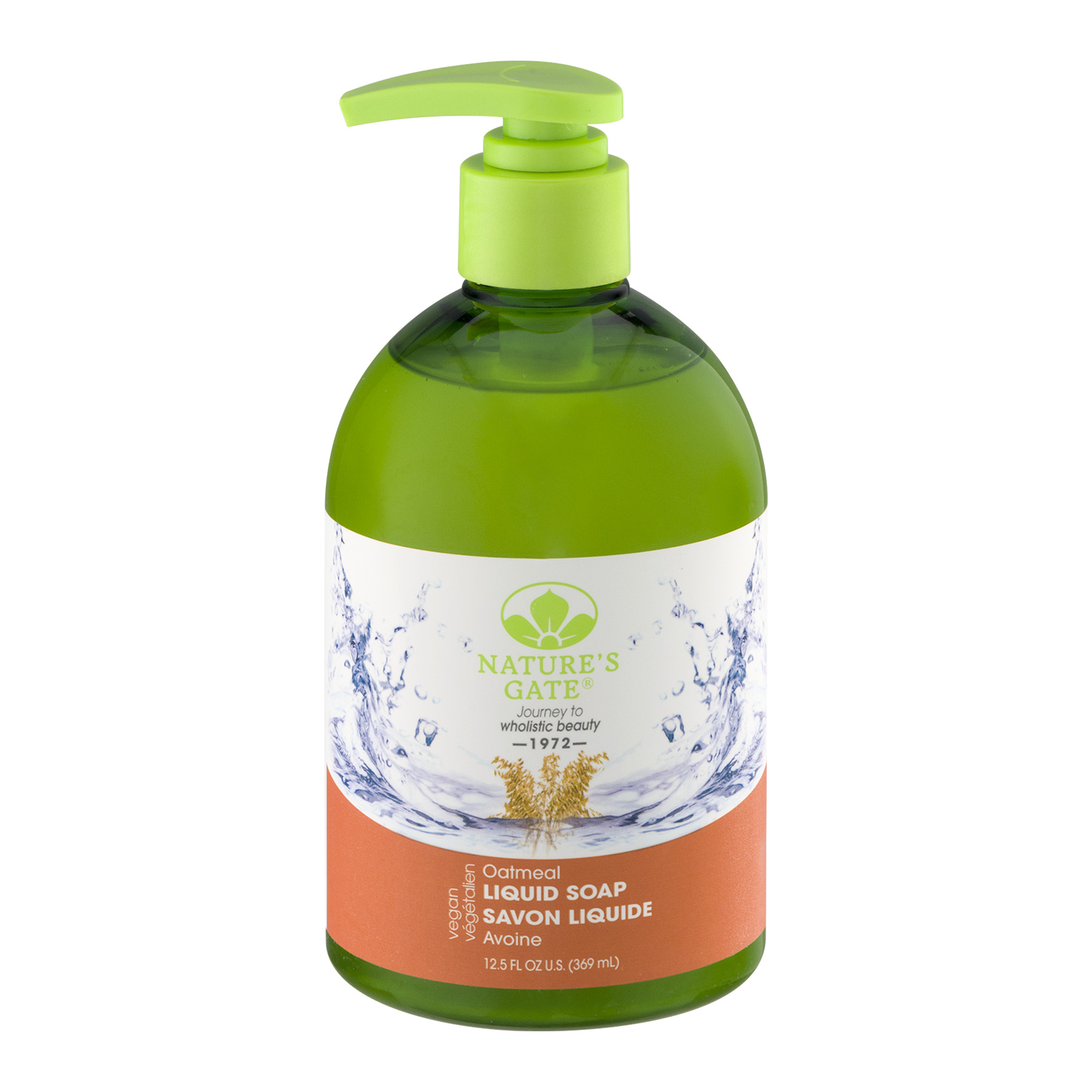 Nature's Gate Liquid Soap Oatmeal, 12.5 FL OZ