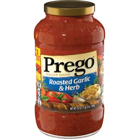 Prego Roasted Garlic & Herb Italian Sauce, 24 oz.