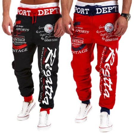Sell Well Men Sport Pants Long Trousers Tracksuit Fitness Workout Joggers Gym
