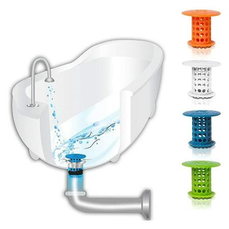 Silicone Sink Strainer Stopper Waste Plug Bathroom Basin Sink Drain Filter - image 5 of 5