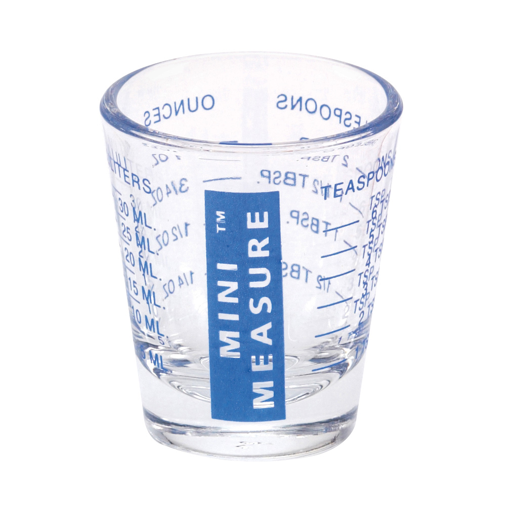 Mini Measure Multi-Purpose Measuring Cup Shotglass, Blue