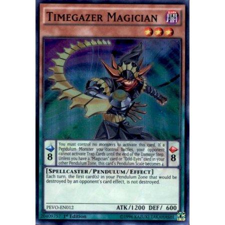 YuGiOh Pendulum Evolution Timegazer Magician PEVO-EN012
