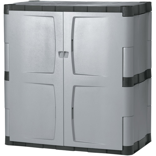 "Rubbermaid FG708500mICHR 36"" Mica and Charcoal Base Cabinet"
