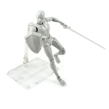 Lzndeal Action Figure Model Human Mannequin 2.0 Body Kun Doll Body-Chan Man Woman Action Figure Set for SHF Body Kun Doll PVC Body-Chan DX Set 2.0 - image 4 of 9