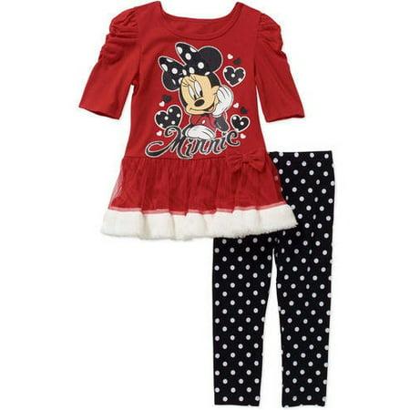 8f07c280a1e Minnie Mouse - Licensed Legging Set - Walmart.com