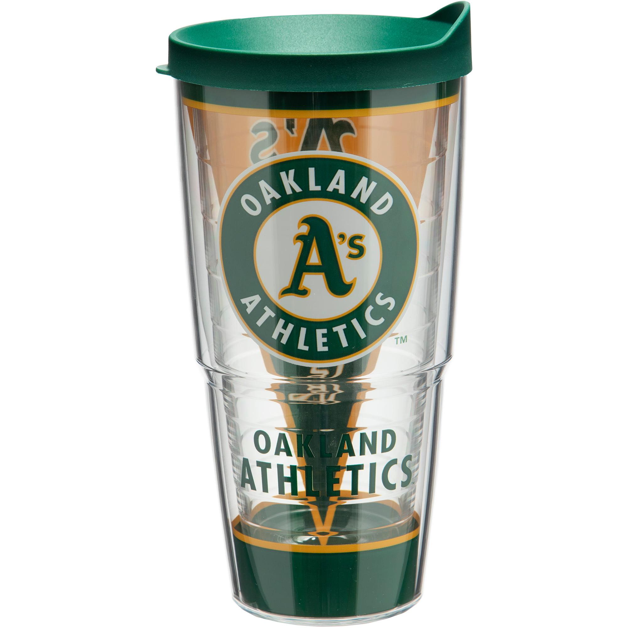 Oakland Athletics Tervis 24oz. Batter Up Acrylic Tumbler - No Size
