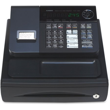 Casio Pcr T280 Cash Register Stylish Black Color