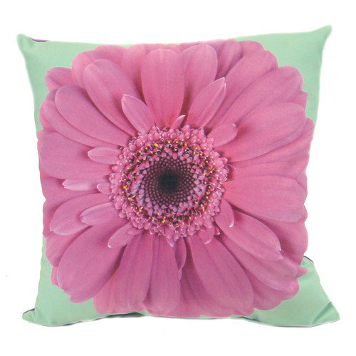 lava Daisy Feather Filled Pillow