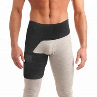 Hip Brace for Sciatic Nerve Pain Relief Thigh Brace for Men & Women Sciatica Brace Hip Groin Stabilizer Free Eyeglass Pouch