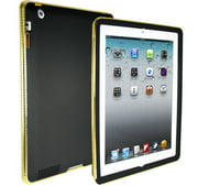 Hard Candy Chrome Bezel Gold Chrome Cover for the New iPad