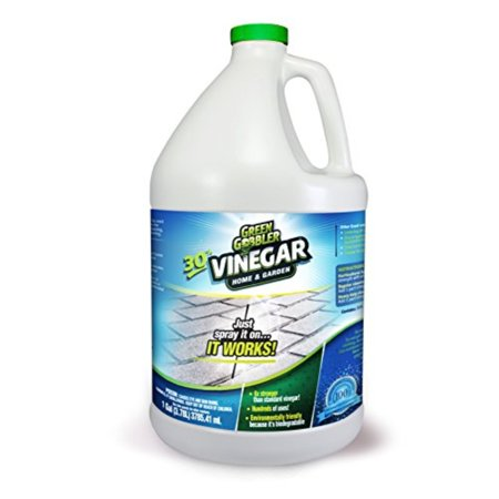 green gobbler ultimate vinegar home & garden - 30% vinegar concentrate, hundreds of uses! (1 gallon) ()