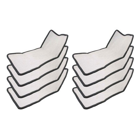 Crucial Floor Steamer Cloth Pad (Set of 8)