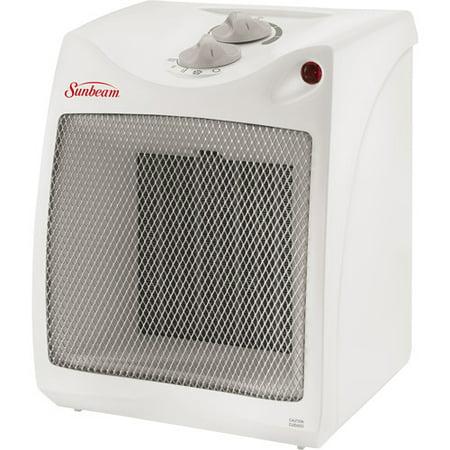 Sunbeam Electric Compact Ceramic Heater SCH4051 WM1