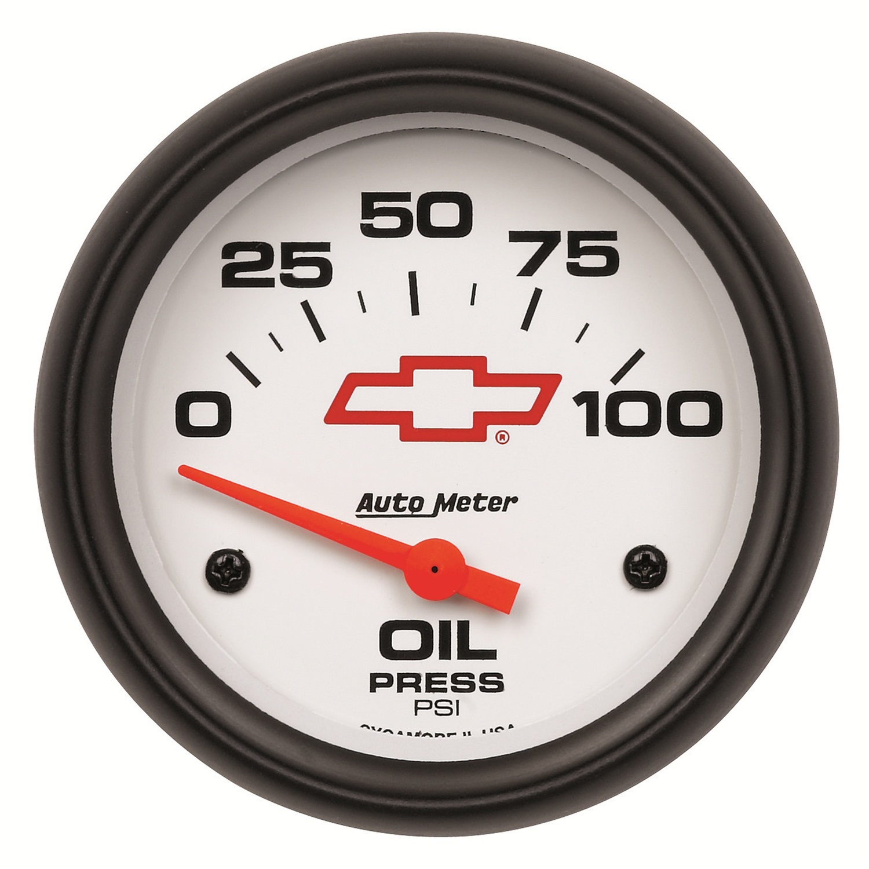 Auto Meter 5827-00406 Oil Pressure  - 0-100 PSI - Electronic - GM Phantom