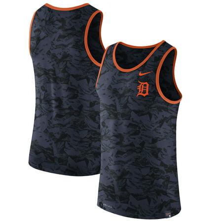 Detroit Tigers Nike Premium Performance Tank Top - Navy
