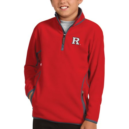Rutgers Scarlet Knights Antigua Youth Ice Quarter-Zip Jacket - (Scarlet Ice)