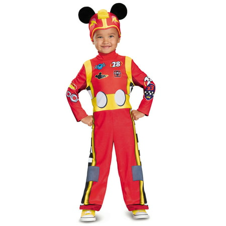 Disney Mickey Mouse Roadster Racers Classic Toddler Boy Costume