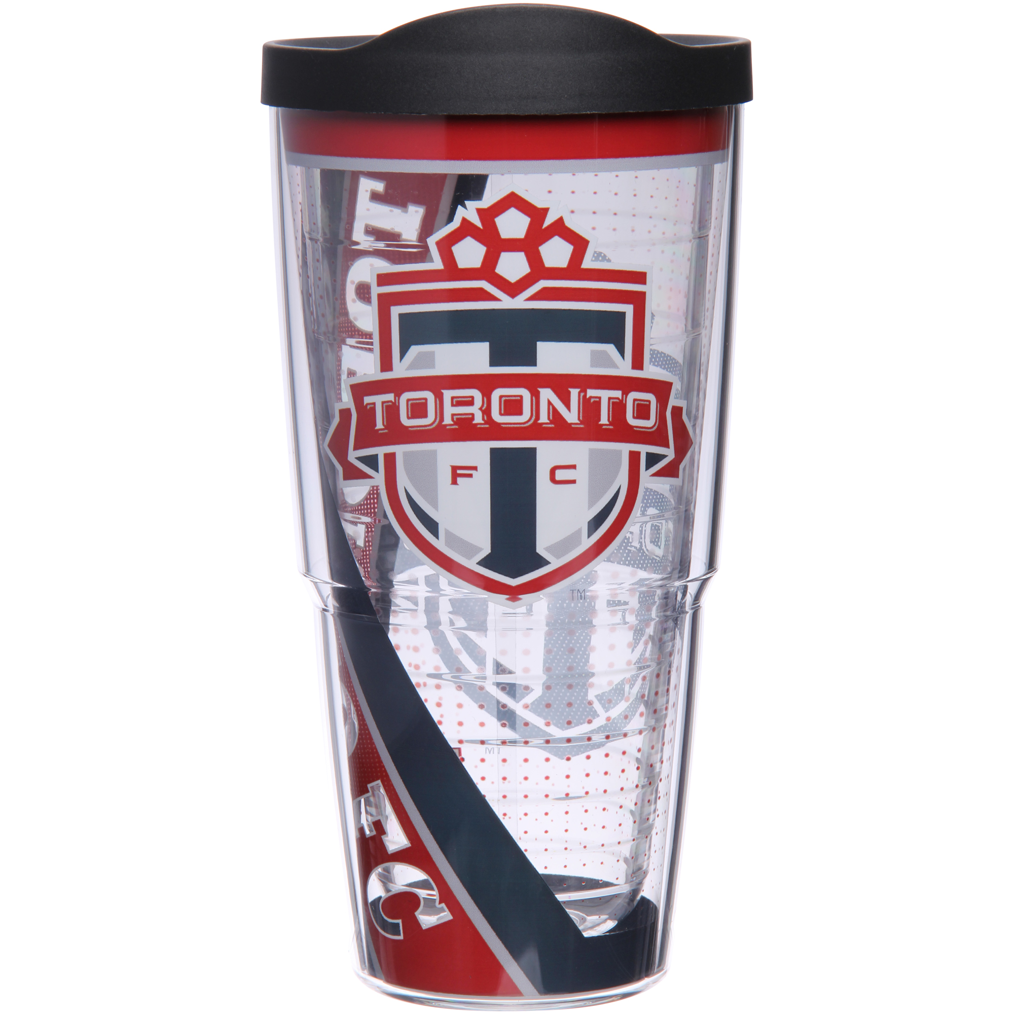 Toronto FC Tervis 24oz. Tumbler with Lid - Clear - No Size