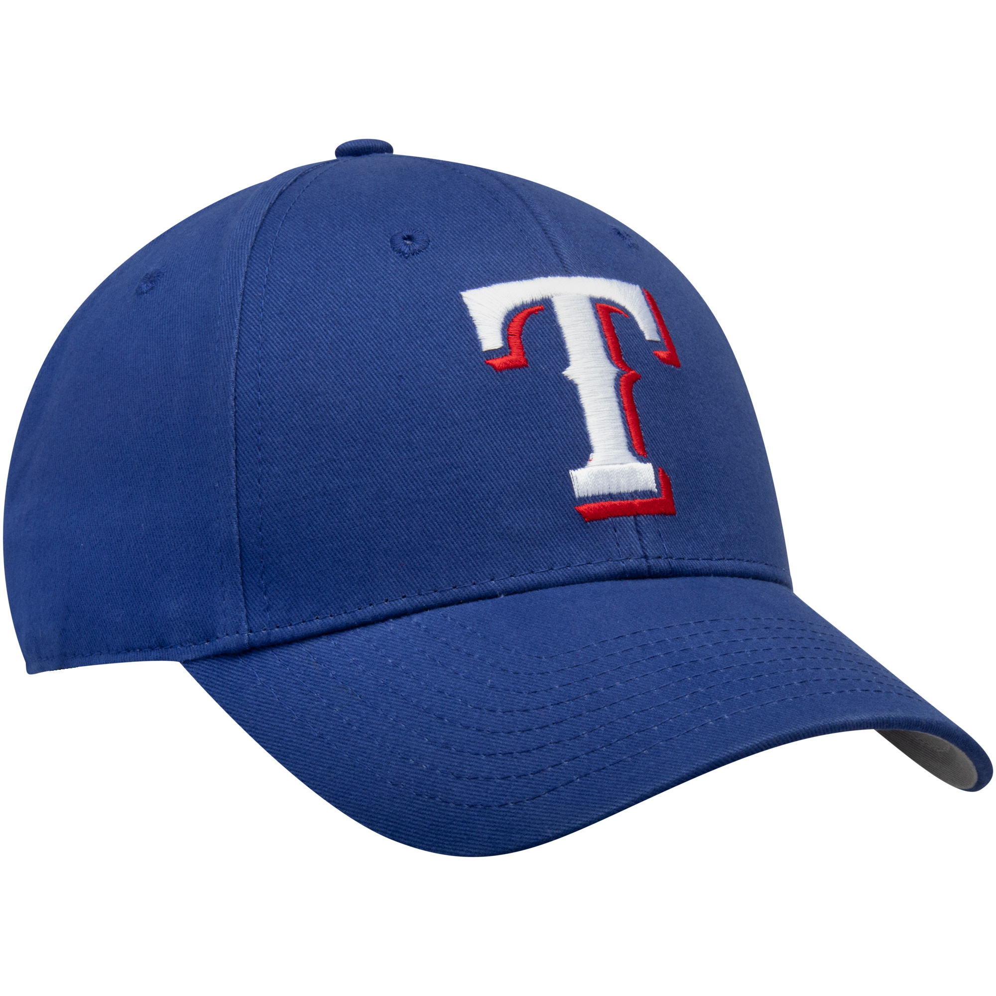 eef67b5d57f3f6 MLB Texas Rangers Basic Cap / Hat by Fan Favorite - Walmart.com