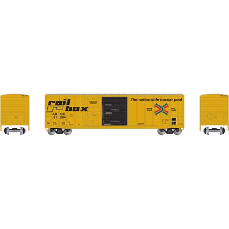 Athearn 87185 Ho Railbox  Early  50 Fmc Combo Door Box Car  51204