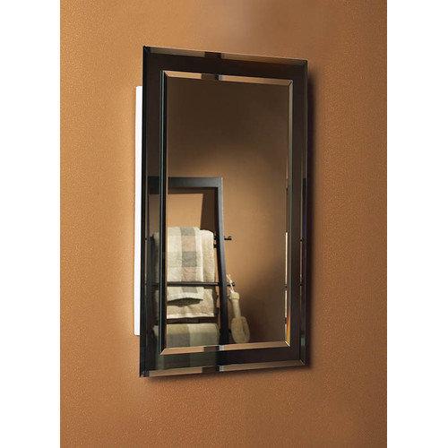 Jensen Mirror On Mirror 16 X 26 Recessed Beveled Edge