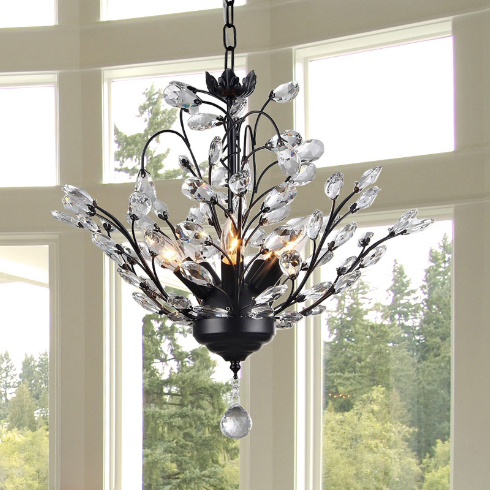 Warehouse of Tiffany Aria 5 Light Crystal Chandelier
