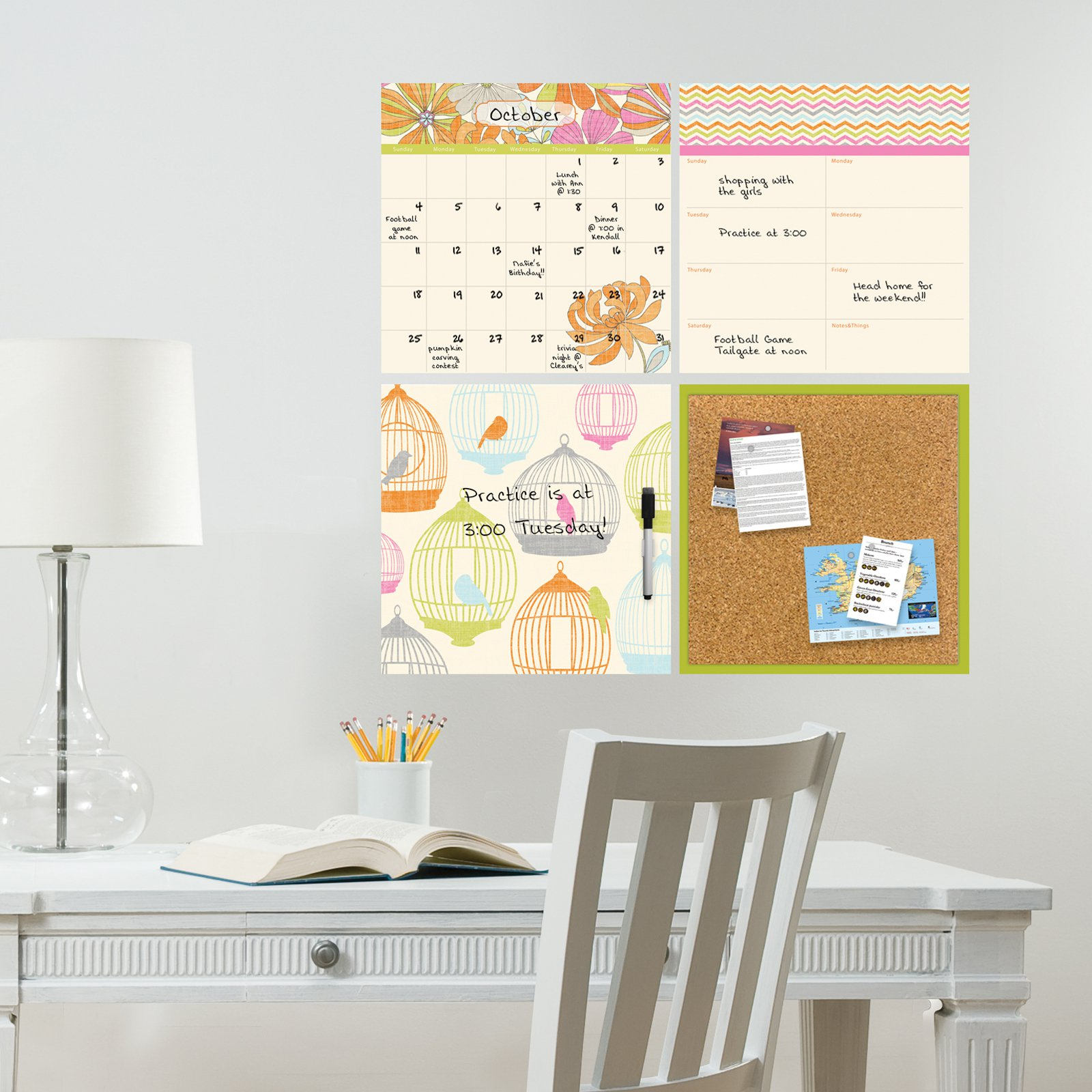 WallPops St Tropez Organization Kit
