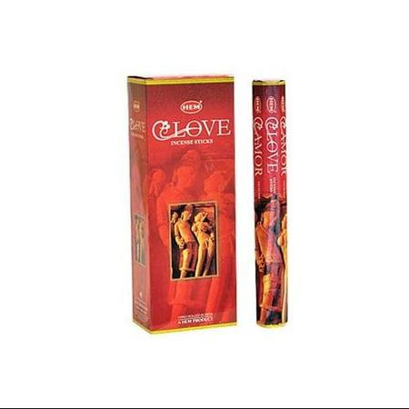 Hem Love Incense, 120 Stick Box
