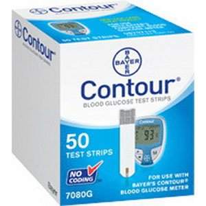 Bayer Contour Test Strips - 500 Count