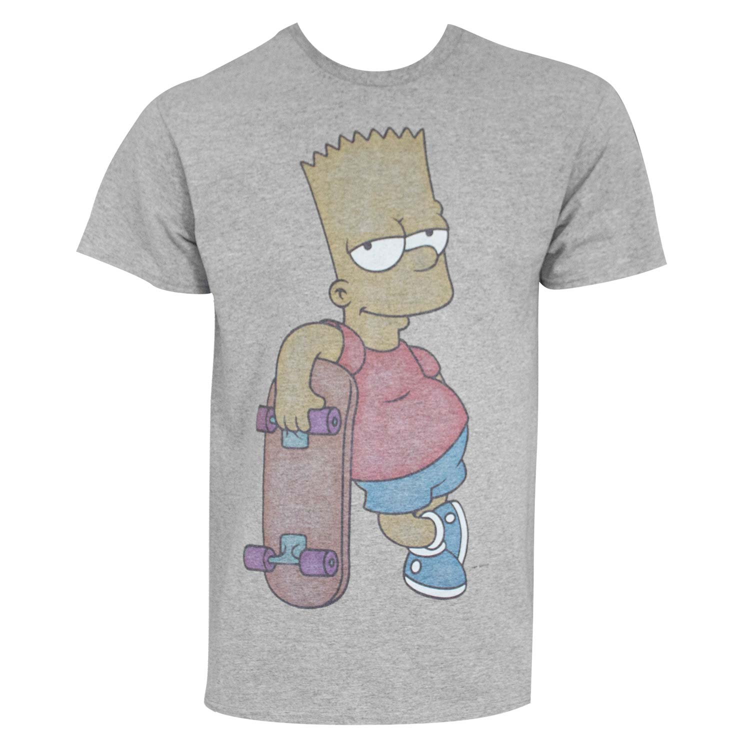 The Simpsons Bart Skateboard Tee Shirt