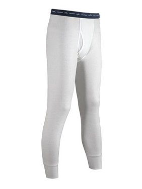 Coldpruf Men's Basic 2-Layer Bottoms, Winter White, Small