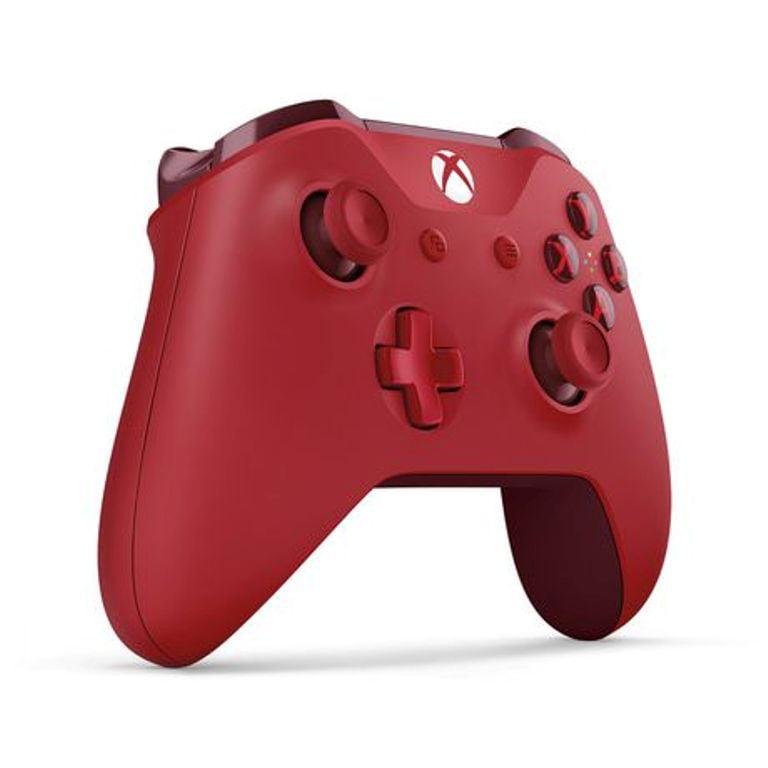 Refurbished Microsoft WL3-00027 Xbox One Wireless Controller, Red