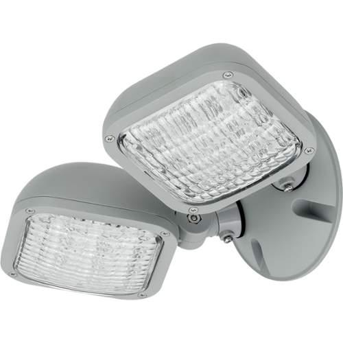 Progress Lighting PEWLH-DB-82 Double Head LED Flood Light - Remote Operated