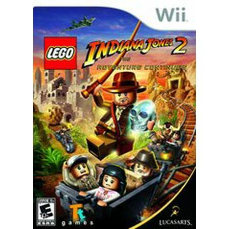 LEGO Indiana Jones 2 The Adventure Continues - Nintendo Wii