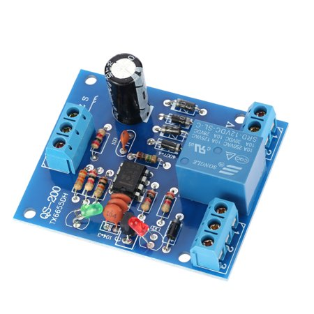 Electronic Water Level Controller (9V-12V AC/DC Liquid Level Controller Water Level Detection Sensor Drainage Pump Water Control)
